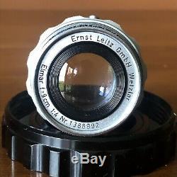 Leitz Leica (SUMMARON 35mm f/3.5) + (ELMAR 90mm f/4) M Mount Lenses M2 M3 M4 M5