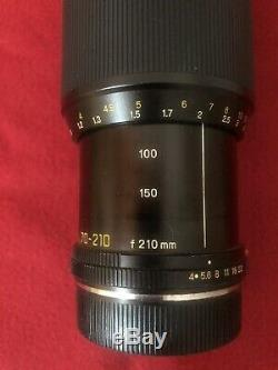 Leitz Leica Vario-Elmar-R 14/70-210mm (70-210mm F4) Zoom Apertura Fissa