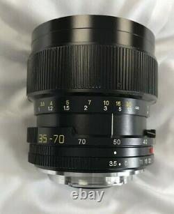 Leitz Leica Vario Elmar R f3.5 (13.5) 35-70 E60 Camera Lens Made In Japan