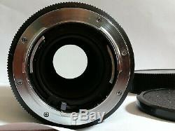 Leitz Leica -r 100mm F4 Macro-elmar Lens Made In Germany 3-cam