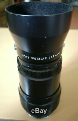 Leitz Tele-Elmar 14 135mm mit Gegenlichtblende