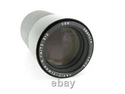 Leitz Vario-Elmar-R 14/70-210 Objektiv lens 7 blades + caps in Box OVP