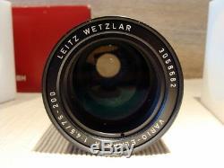 Leitz Wetzlar 11266 Vario Elmar R 4.5/75-200mm Sammlerstück TOP OVP
