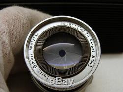 Leitz Wetzlar 11631 Leica Elmar- M 14/90mm fat collapsible lens RAR