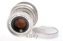 Leitz Wetzlar Elmar 2.8/50mm BJ. 1963 Leica-M Mount Lens Objektiv Serviced 2020