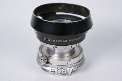 Leitz Wetzlar Elmar M 50mm F2.8 Objektiv
