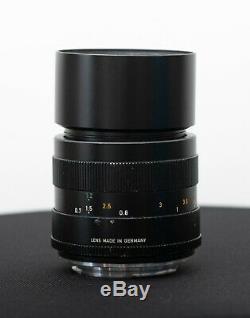 Leitz Wetzlar Elmar-R 100mm f/4 Lens