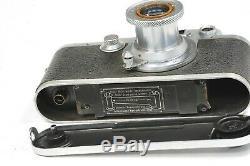 Leitz Wetzlar LEICA III C camera with lens Elmar 50mm f3,5, from 1946