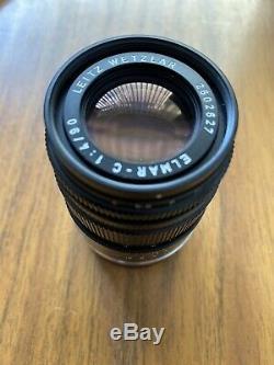 Leitz Wetzlar Leica 90mm f4 Elmar-C lens