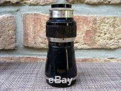 Leitz Wetzlar Leica Berg Elmar M39 16.3/10,5cm Lens vernickelt RAR