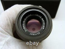 Leitz Wetzlar Leica Elmar-C 14/90mm black Leica M-mount Lens TOP