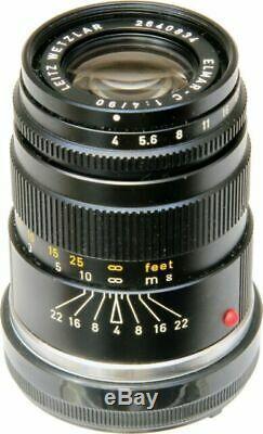 Leitz Wetzlar Leica Elmar-C 90mm F4 Lens 2574787