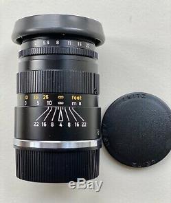 Leitz Wetzlar Leica Elmar-C. M-Mount 90mm f4 Lens. Beautiful. Both Caps