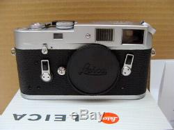 Leitz Wetzlar Leica M4 Kit Elmar- M 12.8/50mm Lens Service 2020 RAR