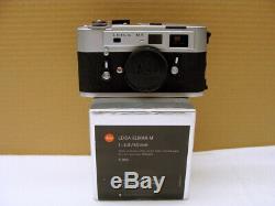 Leitz Wetzlar Leica M5 silber Kit Elmar- M 2.8/50mm E39 Lens box TOP