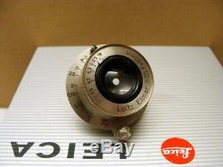 Leitz Wetzlar Leica Nickel Elmar-M39 13.5/50mm 1a Sammlerstück TOP