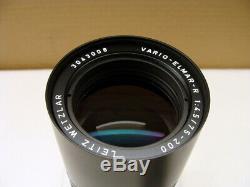 Leitz Wetzlar Leica Vario Elmar- R 4.5/75-200mm 1a Sammlerstück OVP