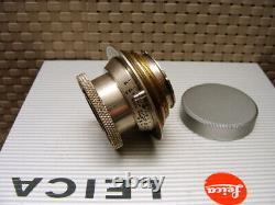 Leitz Wetzlar Leitz Elmar- M39 3.5/50mm Nickel-Elmar Sammlerstück TOP