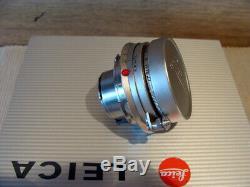 Leitz Wetzlar Leitz Leica Elmar-M 13.5/5cm chrom M-mount Lens RAR