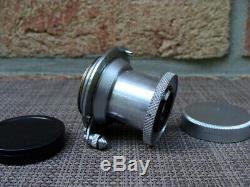 Leitz Wetzlar Leitz Leica Elmar M39 3.5/5cm chrom aus Sammlung TOP