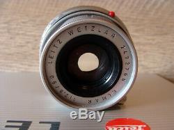 Leitz Wetzlar Objektiv Leica Elmar-M 12.8/50mm chrom Sammlerstück TOP