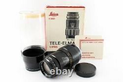 Leitz Wetzlar Tele Elmar 135mm f/4 MF Lens withBox For M Mount Exc+++ From Japan