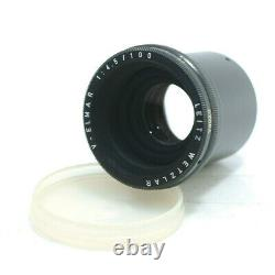 Leitz Wetzlar V. Elmar 14.5/100 Focotar Enlarger Enlarging Lens M39 Excellent