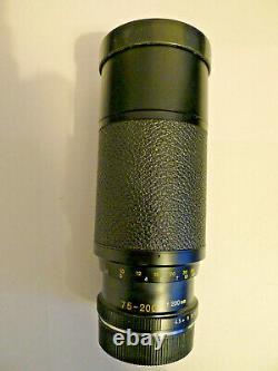 Leitz Wetzlar Vario-Elmar-R 75-200 f4.5 Triple Cam lens