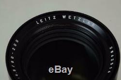 Leitz Wetzlar Vario-Elmar-R 80-200mm f/4.5 Leica R Lens MUST READ! (6228)