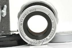 Leitz Wetzlar collapsible ELMAR 90mm f4 rangefinder lens in Leica M mount