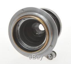 Leitz, lens Leica 5cm 50mm F3.5 50/3.5 Elmar M39 mount, exc+++ c. 1938