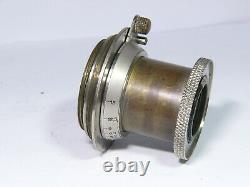 Leitz nickel Elmar 50mm/F3.5 11 o'clock version Lens LTM L39 / M39