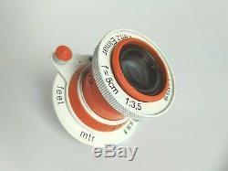 Lens Elmar Leitz 3.5/50 mm M39 LEICA Zeiss/Limited Edition