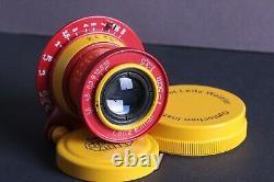 Lens Ernst Leitz Elmar 3.5/50 mm RF M39 Zeiss Eleitz Wetzlar LEICA FED ZorkiOY