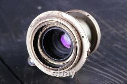 Lens Leitz Elmar 3.5/50 mm Leica RF M39 Lens Carl Zeiss Eleitz Wetzlar