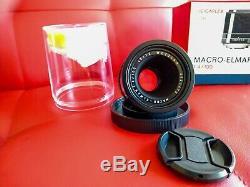 Like NEW Boxed Leica 100mm f/4 Macro-Elmar-R Leitz fixed focus Lens Ref 11230