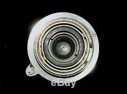 M39 LEICA Leitz Elmar 3,5 3,5cm Caps TOP EKURZ 1934 SN 215xxx