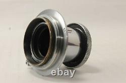 MINT Leitz Elmar 5cm 50mm f/3.5 Lens withFilter Leica L39 LTM from JAPAN #1716