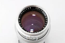 N. Mint Leica Leitz 135mm f4 Elmar Contemporary M Mount Lens#763976
