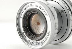 NEAR MINT+++LEICA ERNST LEITZ GMBH WETZLAR ELMAR 5CM 50mm F/2.8 LEICA M MOUNT