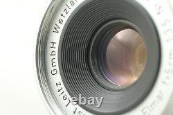NEAR MINT LEICA Leitz Elmar 5cm 50mm F/3.5 L39 Screw Mount Lens From JAPAN