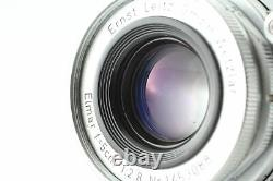 NEAR MINT Leica Leitz Wetzlar Elmar-M 50mm f/2.8 Lens M Mount From Japan