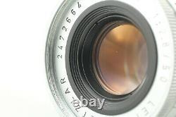 NEAR MINT Leica Leitz Wetzlar Elmar-M 50mm f/2.8 Lens M Mount From Japan #1056