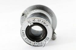 NEAR MINTLeica Leitz Elmar 50mm 5cm F/3.5 L39 LTM Lens From JAPAN #124