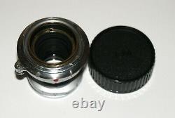 Nice Leitz Leica Elmar 50 mm F2.8 Collapsible LENS LEICA M Rangefinder COUPLED