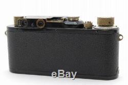 RARE! EXC+++++LEICA LEITZ III BLACK RANGEFINER With NICKEL ELMAR 50MM F/3.5 LENS