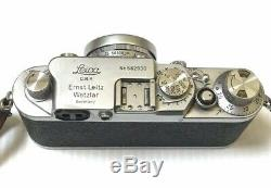Rare Leica lllF D. R. P. Camera Erntz Leitz GmbH Wetzlar Elmar f=5cm 12.8 lens