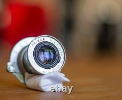 Rare Trixar Anastigmat 50mm f/3.5 LTM lens for Wega camera Leitz, Elmar