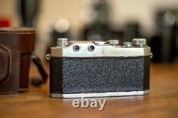 Rare Wega II Italian Leica copy Leitz, Elmar, LTM