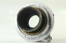 Top Mint Leitz Wetzlar Elmar 50mm f/2.8 Lens Silve Leica Germany M Mount JAPAN